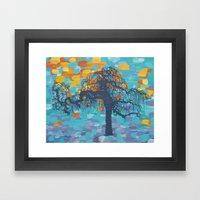 Weeping Cherry Framed Art Print