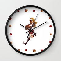 apple thief Wall Clock