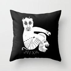 The White Demon Throw Pillow