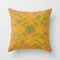Grapefruit, Lemon, Lime Throw Pillow