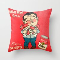 Cruz's Soup Throw Pillow