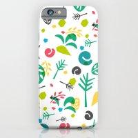 Leaves Pattern iPhone 6 Slim Case