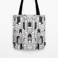 SPRAWL Tote Bag