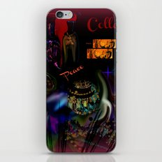 Collage Art Artsy Art by Sherri Of Palm Springs iPhone & iPod Skin