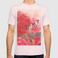 Encounter In Okinawa Mens Fitted Tee Light Pink SMALL