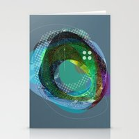 The Abstract Dream 10 Stationery Cards