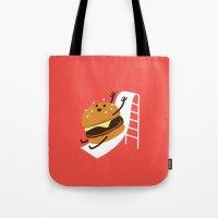 Slider Burger Tote Bag
