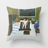 A Warm Night Throw Pillow