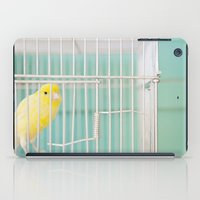 Yellow Bird Against Turq… iPad Case