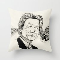 Mr. Junichiro Koizumi  Throw Pillow