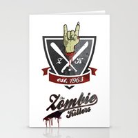 The Zombie Killers Stationery Cards