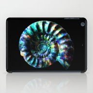 Fossilized Ammonite iPad Case