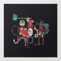 Up to no good Canvas Print