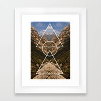 Hidden Meaning Framed Art Print