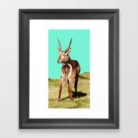 THAT Is Not A Dart Board… Framed Art Print
