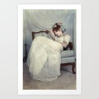 Sleeping Through the Dull Fete Art Print