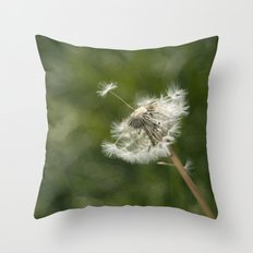 diente de león Throw Pillow
