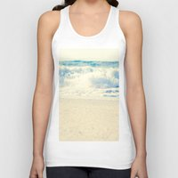 Beach Gold Unisex Tank Top