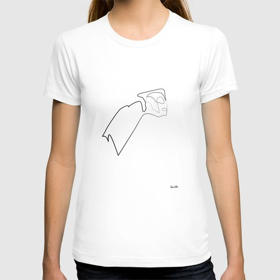 One line Rocketeer T-shirt