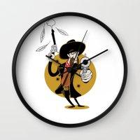 Dumb Cowboy Wall Clock