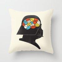 Vader Phrenology Throw Pillow