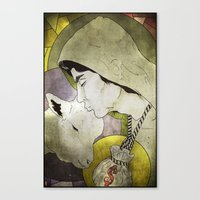 BLOOD MONEY Canvas Print
