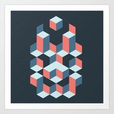 Geo 02 Art Print