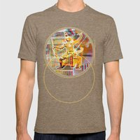 Collateral°Siam^Newz Mens Fitted Tee Tri-Coffee SMALL