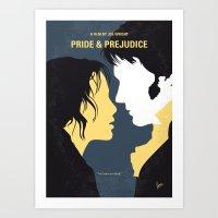 No584 My Pride And Preju… Art Print