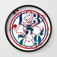 Droppingattitude Wall Clock