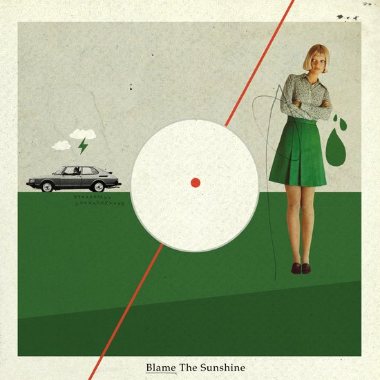 Blame The Sunshine | Collage Art Print