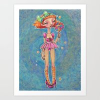 Good Ship Lollipop Art Print