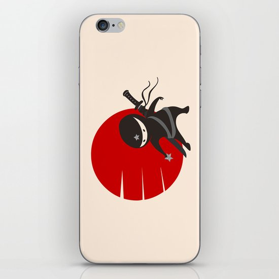 LITTLE NINJA STAR iPhone & iPod Skin