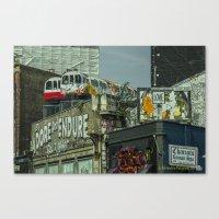 Shoreditch Tubes  Canvas Print