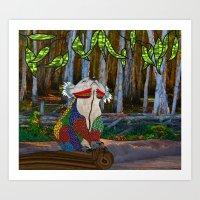 Doodlage 07 - Koala Drea… Art Print