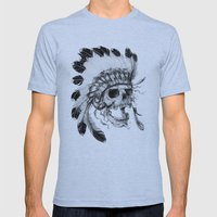 Wild, Wild West Mens Fitted Tee Athletic Blue SMALL