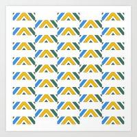 Pattern12 Art Print