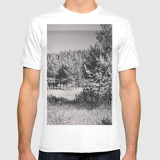 Waha, Idaho Mens Fitted Tee SMALL White