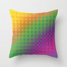 Color Check!  Throw Pillow