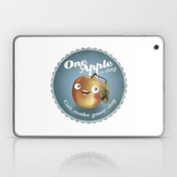 One Apple A Day Laptop & iPad Skin