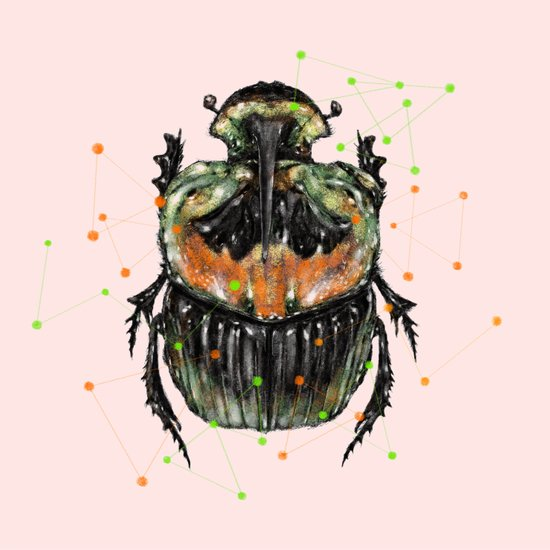 INSECT X Art Print
