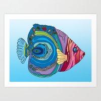 Oh That Fish Art Print
