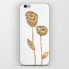 PAPERCUT FLOWER 5 iPhone & iPod Skin