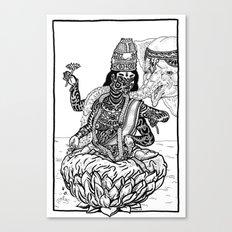 The Goddess Kamala Canvas Print