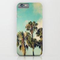 Palms Blue iPhone 6 Slim Case