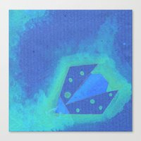 Canvas Print featuring Ladybird Origami 5 by eefak