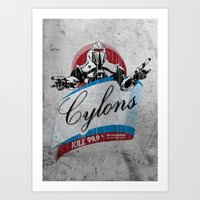 Cylons Huminfectant Spray  Art Print