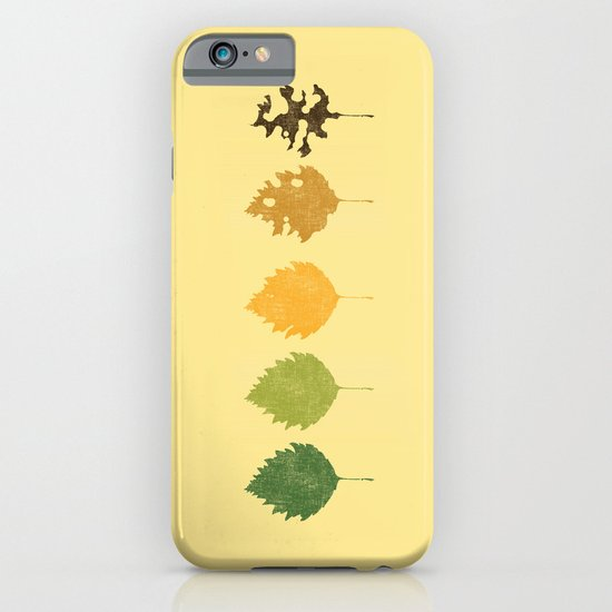 Time passes iPhone & iPod Case