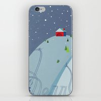 Holiday Hills iPhone & iPod Skin