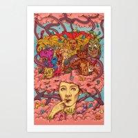 Frivolous Art Print